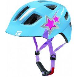 CRATONI MAXSTER blue star glossy gyermek bukósisak beépített világítással